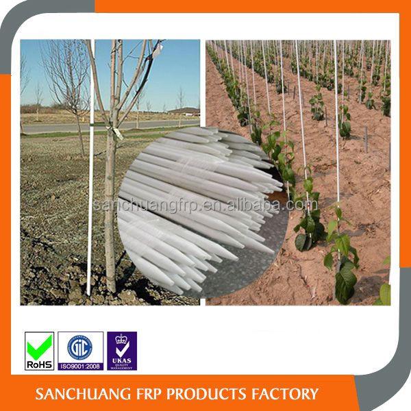 Dongguan Sanchuang Custom Fiberglass frp plant stake