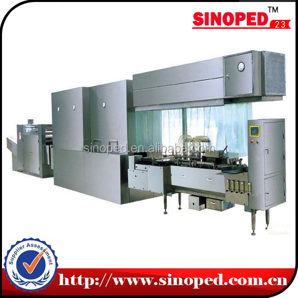 ampoule printing machine/ Ampoule Compact Line for Washing Drying Filling and Sealing