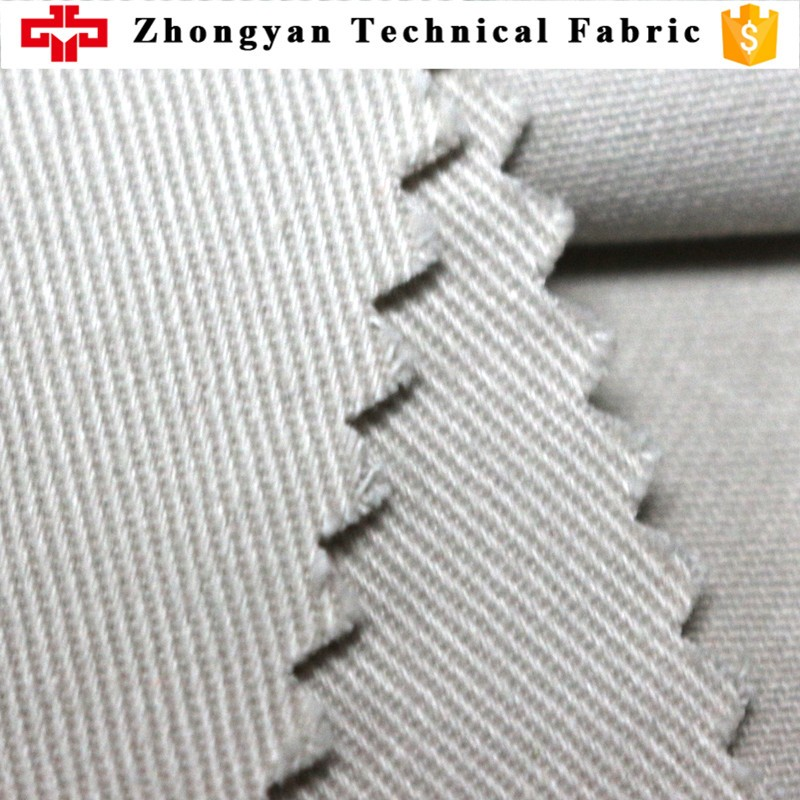 100% cotton twill breathable dyed workwear uniform fabric