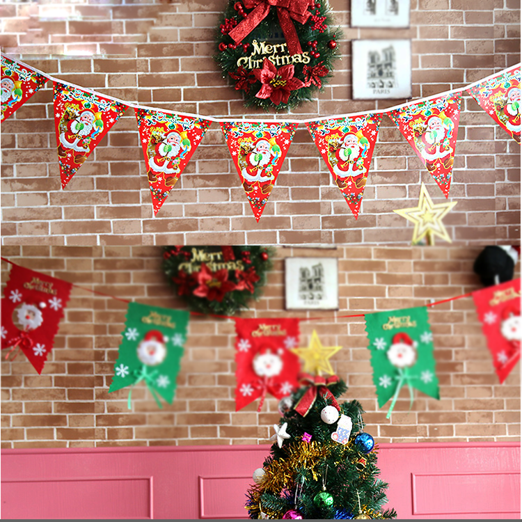 Hanging Christmas Decorations Ceiling.Christmas Festival Decorations Ceiling Wall Hanging String Bunting Flag Buy Bunting Flag Christmas Bunting String Flag Product On Alibaba Com