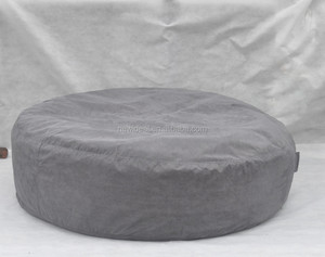 Fabric bean bag pouf filling with bean inside (NW1987)