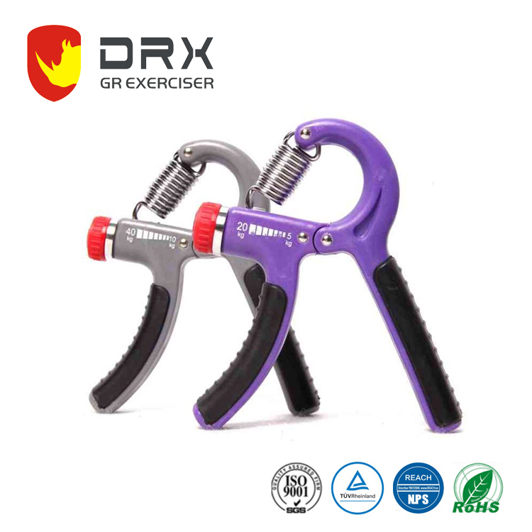 Gym fitness crossfit ajustable plastic high quality hand grip
