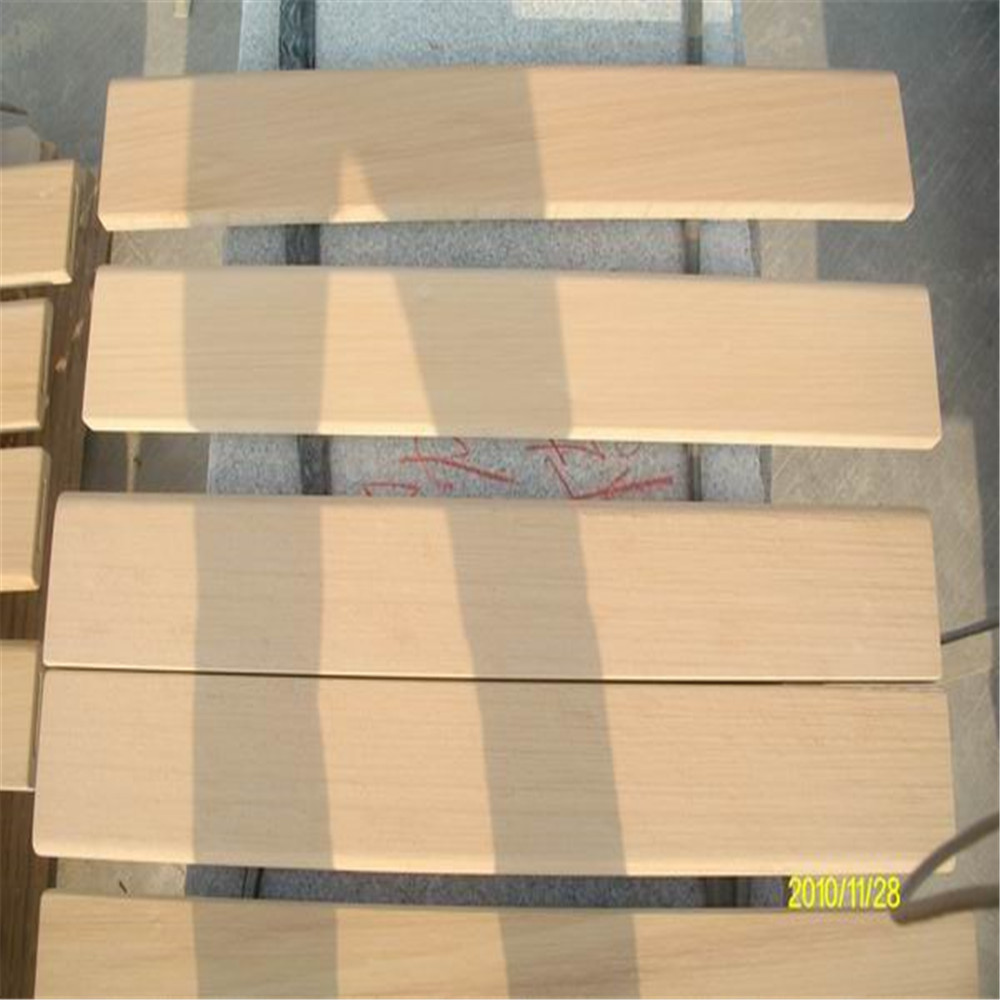 Yellow sandstone claddings wooden slabs blocks