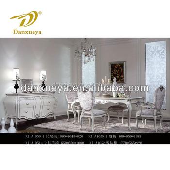 Colore Bianco Sala Da Pranzo In Stile Francese Di Mobili,Tavolo Set ...