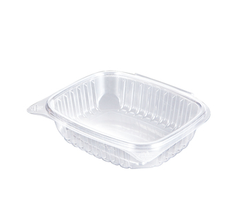 Eco-friendly Elegant Transparent Plastic Disposable Blister Packaging Clamshell Salad & Fruit Bowl/Box