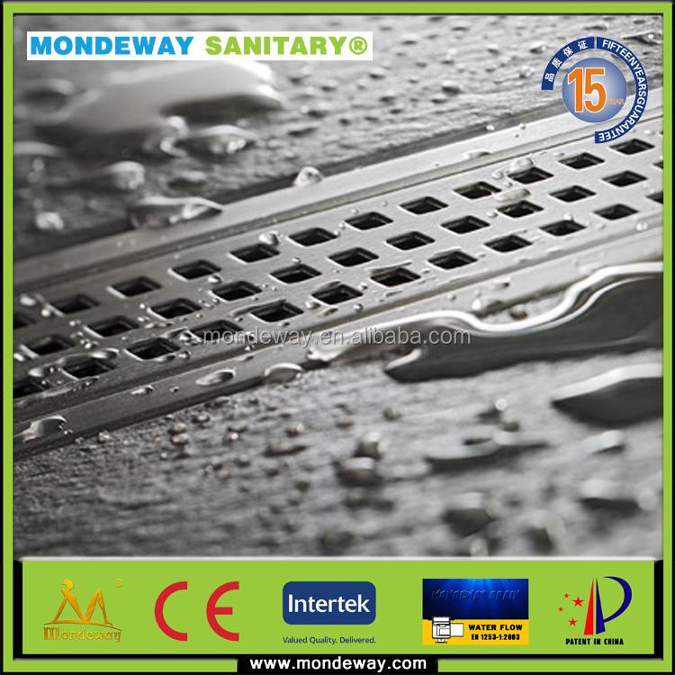 HOT SALES FOR SS304/316 ALIBABA road drainage grates subsoil drainage/hand concrete mixer ceramic cartridge water/ SINK DRAINS