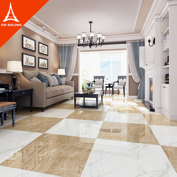 China Foshan New Arrival Ceramic Tile Khaki Sitting Room Vitrified Porcelain Floor Buy