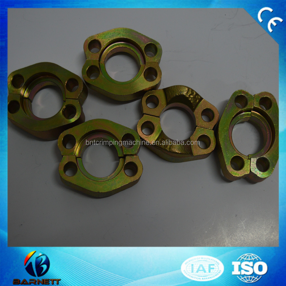 China Carbon Steel Hydraulic SAE Flange Clamps Coupling 3000psi