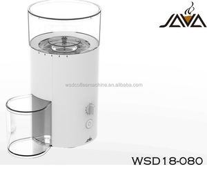 less electricity consumption space-saving ABS Housing Material Conical Burr Coffee Grinder