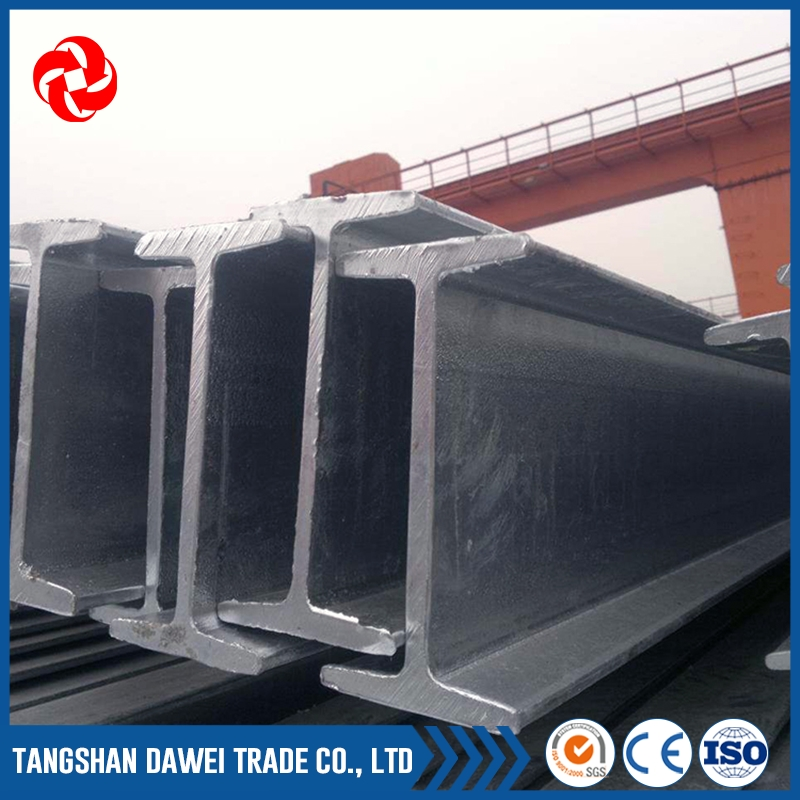 Structural steel fabrication raw material price of i beams per foot