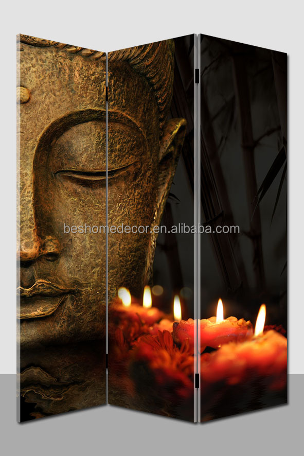 Hot Selling Light Up Wall Art Buddha Canvas Room Divider   Buy Buddha Room  Divider,Room Divider,Canvas Room Divider Product On Alibaba.com