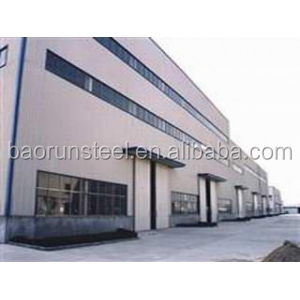 Qingdao showroom new fast build construction projects for steel structure warehouse