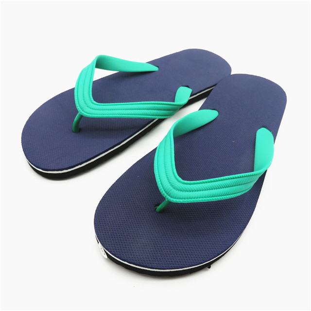 a27b1d3ddc5de8 Adult boy flip flops custom logo pvc slippers for 2017 men summer slippers
