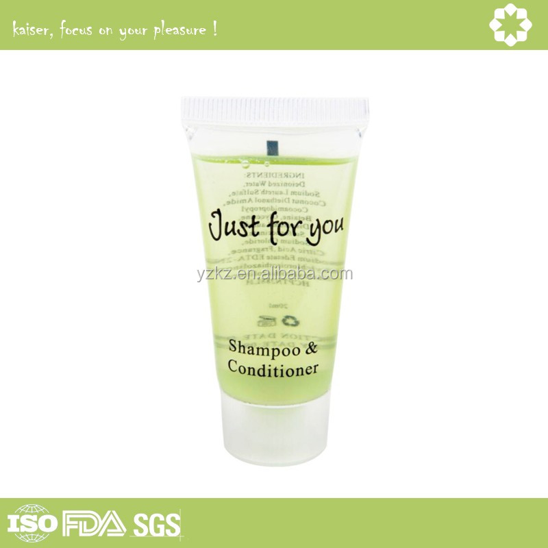 Plastic Cosmetic Hotel Bottle Shampoo Cream Tube