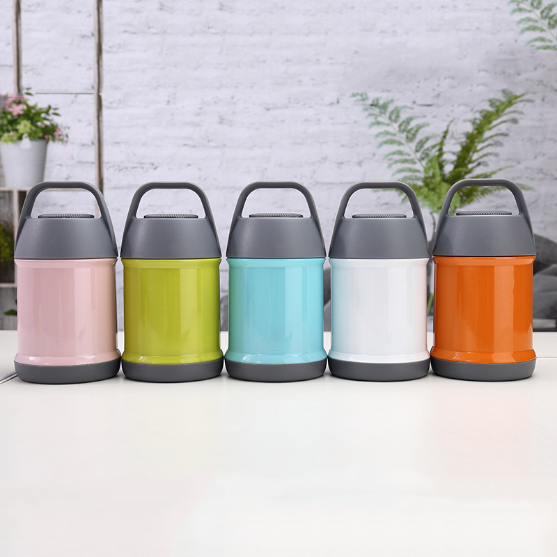 16oz stainless steel Double wall Insulated Vacuum Food flask Thermos Food Jar for Hot food for Kids