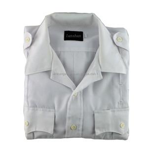 white police shirt