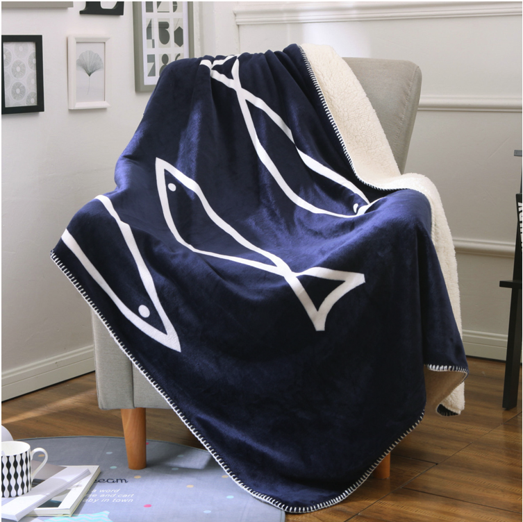 Couette tricotée en tissu polaire, couverture super douce de qualité supérieure