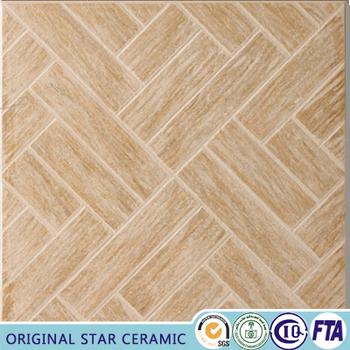 40x40 Patio Non Slip Style Wood Color Ceramic Floor Tile Buy