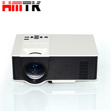 "Top 10 factory price Home theater VIVIBIRGHT 1280x800pixels 4"" Single LCD Panel Display 1500 Lumens mini led projector"
