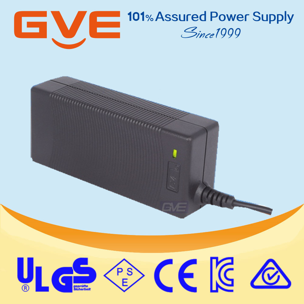 60W 24V 2.5A Lead Acid Battery Charger For Electric Scooter Wheelchair