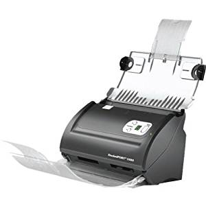Ambir Technology DP1020 DocketPORT 1020 - 20ppm ADF Duplex Document & ID Scanner - 20 Pages per Minute - Automatic Document Feeder - 50 Sheet Capacity - Duplex Scanning - TWAIN - Software Bundle