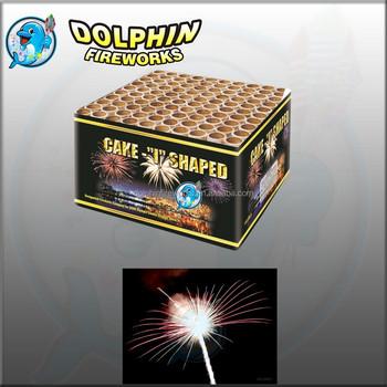Golden Tree 100s Wedding Tube Cake Fireworks Buy 100s