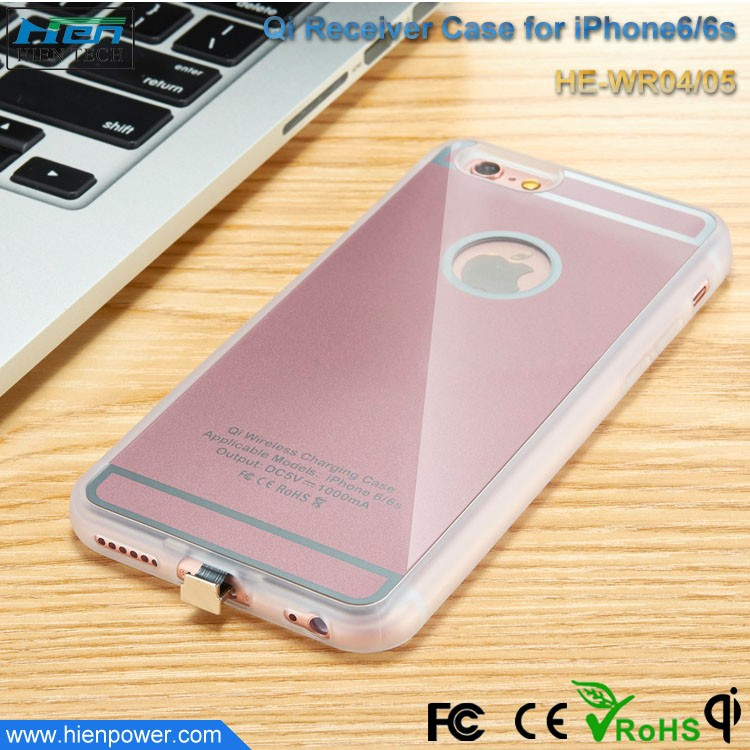 quality design 42869 6a63c Qi Wireless Charger Case For Iphone 6, Qi Wireless Charger Case For ...