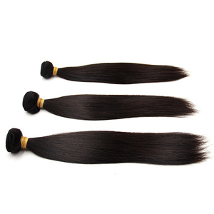 Wholesale vendors natural remy unprocessed human hair extension raw virgin cuticle aligned hair