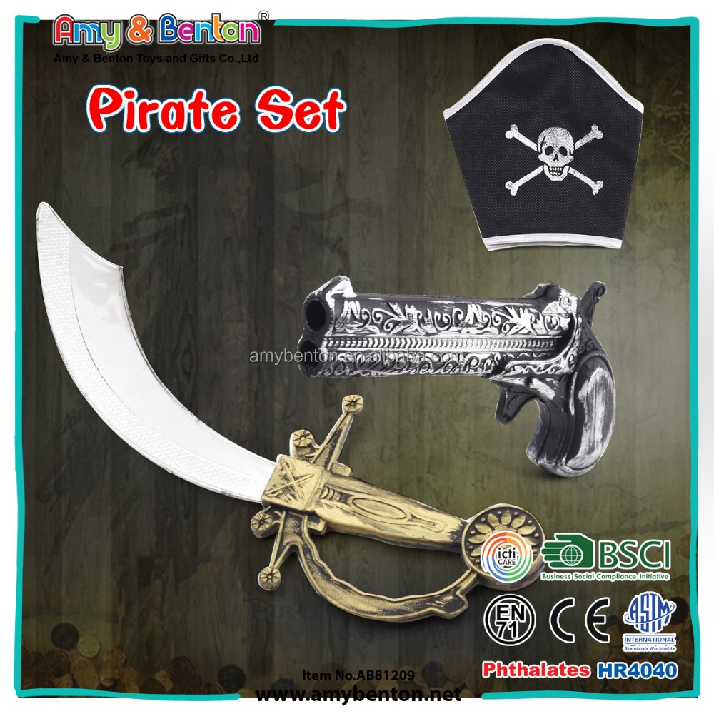 2017 Hot New Products Pirate Set Toys For Kids Pirate accessory