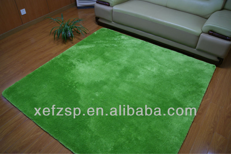 long pile microfiber polyester shaggy children rugs
