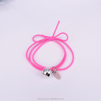 Adult headband hair band charming ponytail holder bracelet set belle hair  tie bangle 4e179404084
