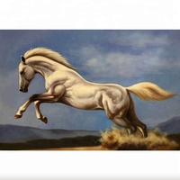 High Quality Custom Running Horse Oil Painting Canvas
