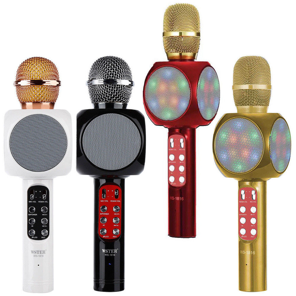 Creative Electronics Kids Karaoke Microphone Voice Changing Baby Einstein Musical Toys Microphone