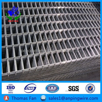 Special Rectangle Hole Black Steel Bar Concrete Welded Wire Mesh ...