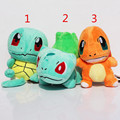 Squirtle Charmander Bulbasaur Plush Toys Banpresto climb 13cm Soft Stuffed Anime Cartoon Dolls