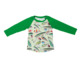 Kid clothes wholesale children boutique clothing long sleeve fashion printed tops raglan t shirt for boys