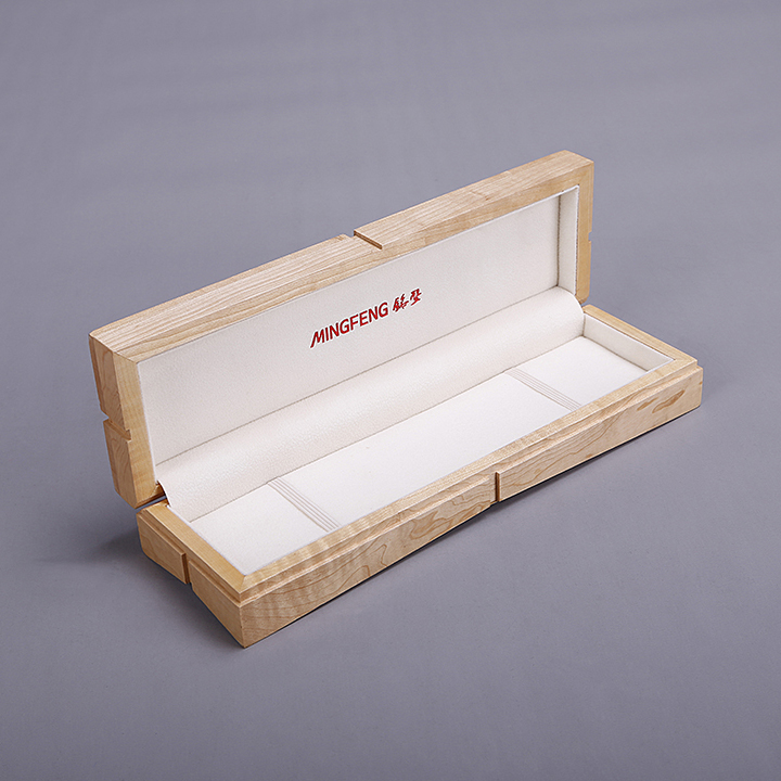China wholesale custom boxes wooden jewelry pearl necklace gift box