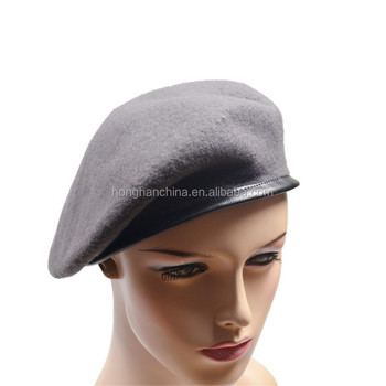 Wool Beret Military Black Men Hat - Buy Black Men Hat 1c6f63f37e9