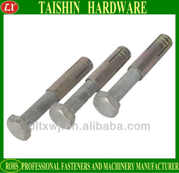 Steel Expansion Anchor Bolts For Wood