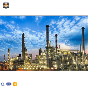 Modular waste oil refinery equipment and crude petroleum oil vacuum  distillation