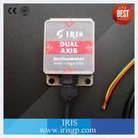Remote control angle sensor measuring 45 degree, inclinometer digital dual axis