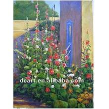 Bahçe Manzarası Yağlı Boya Tanıtım Promosyon Bahçe Manzarası Yağlı