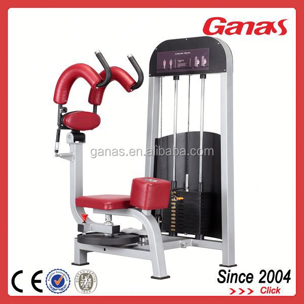 Gym body building equipment personal trainer equipment