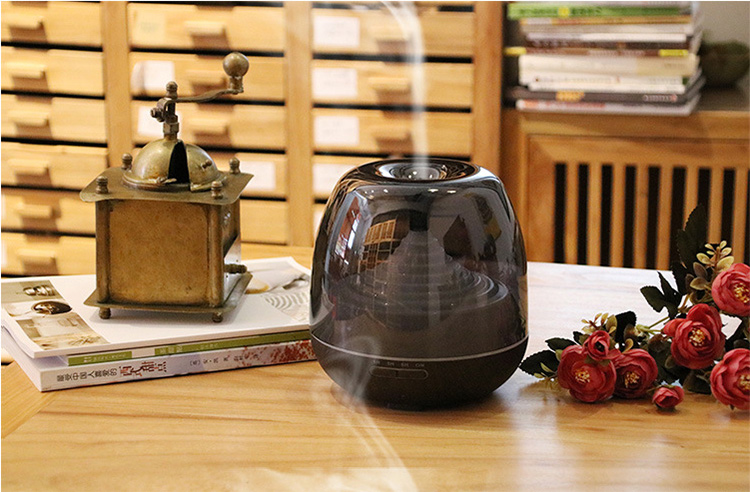 new subtransparent led light easy home aroma essential oil diffuser cool mist industrial ultrasonic humidifier