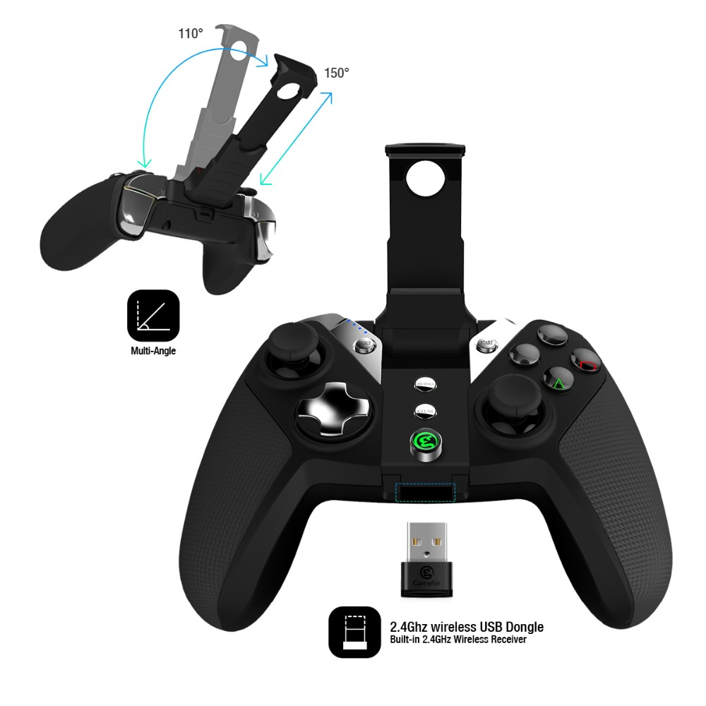 Gamesir G4s joystick controller for electric wheelchair/PS3 gamepad