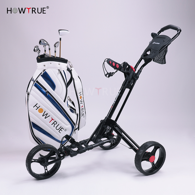 BEST Golf รถเข็นกอล์ฟที่กำหนดเอง PUSH ดึงรถเข็นกอล์ฟประสิทธิภาพสูงรถเข็น