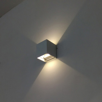 Gu10 Retrofit Up Down Ip54 Wall Lamp Led Stainless Steel Light 7w Outdoor Lights Product On