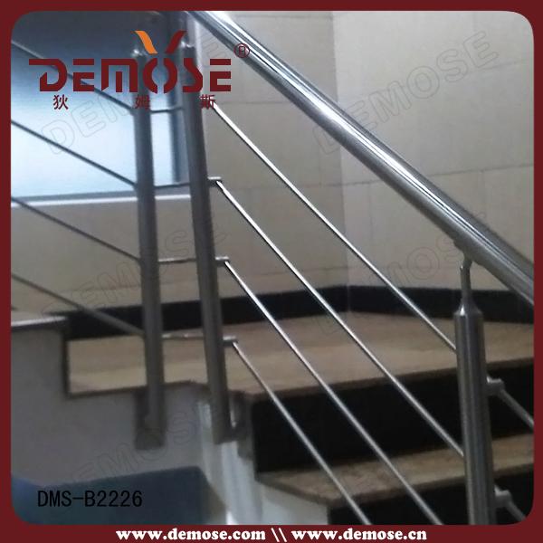 Barandales para escaleras interiores de acero inoxidable - Barandales modernos para escaleras ...