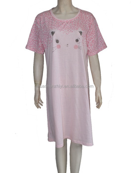 Ladies sleeping gown cheap night gown