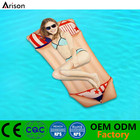 PVC inflatable underwear floating bed air mattress